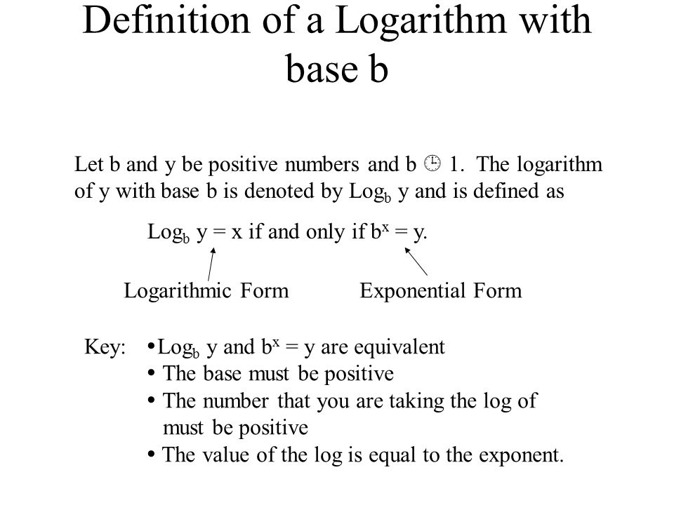 how to find log x base y