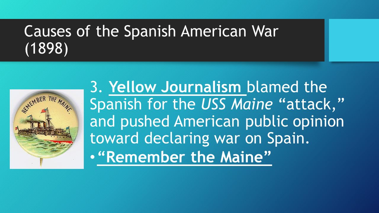 essay on the spanish american war The spanish-american war was an armed military conflict between spain and the united states that took place from april to august 1898 the war began due to american demands that spain peacefully resolve the cuban fight for independence—which had gone on for 30 years.