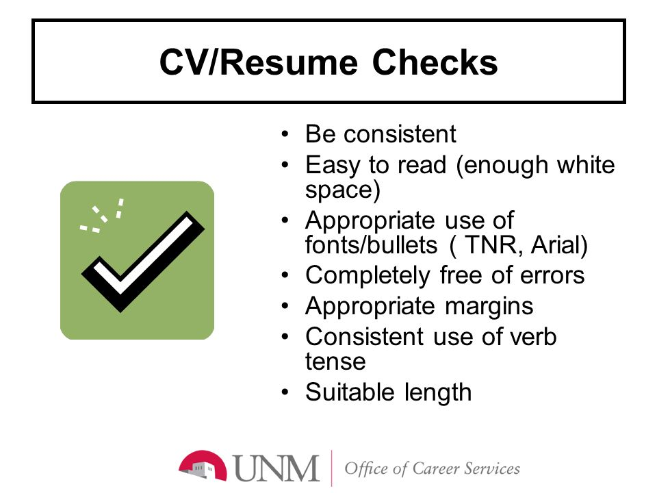 Writing an Effective CV - ppt video online download