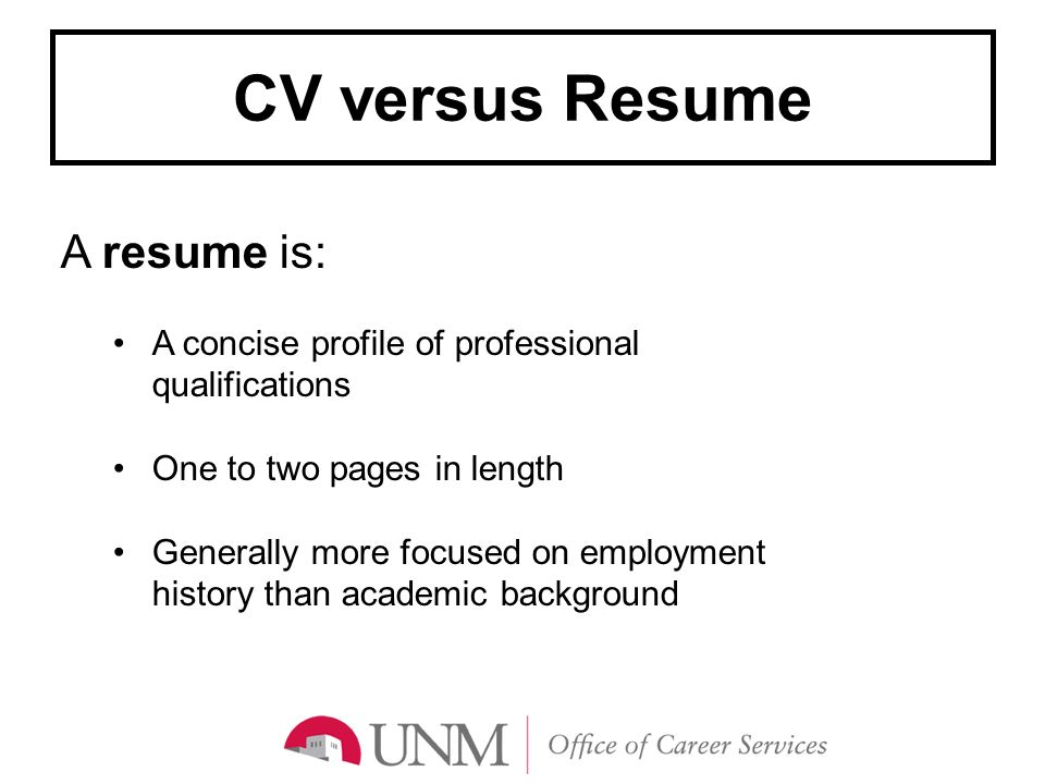 Resume length 3 pages