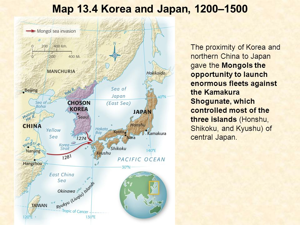 Chapter Mongol Eurasia And Its Aftermath Ppt Download - Japan map 1500