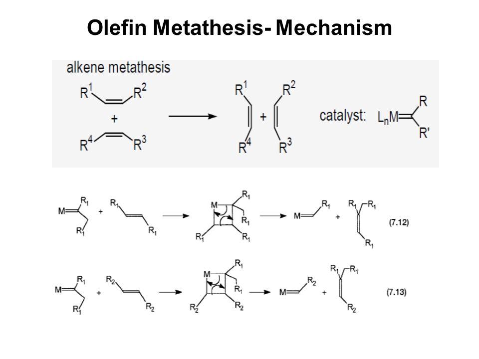 olefin metathesis and metathesis polymerization 1997 (1) olefin metathesis and metathesis polymerization ivin, k j, mol  j c,  academic press: new york, 1997 (2) alkene metathesis in organic.