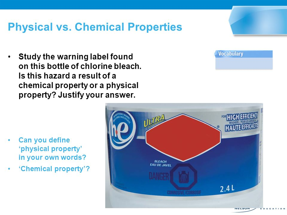 Physical vs. Chemical Properties - ppt video online download