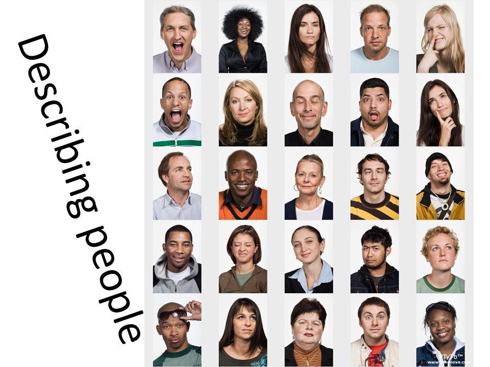 Describing People Ppt Video Online Download