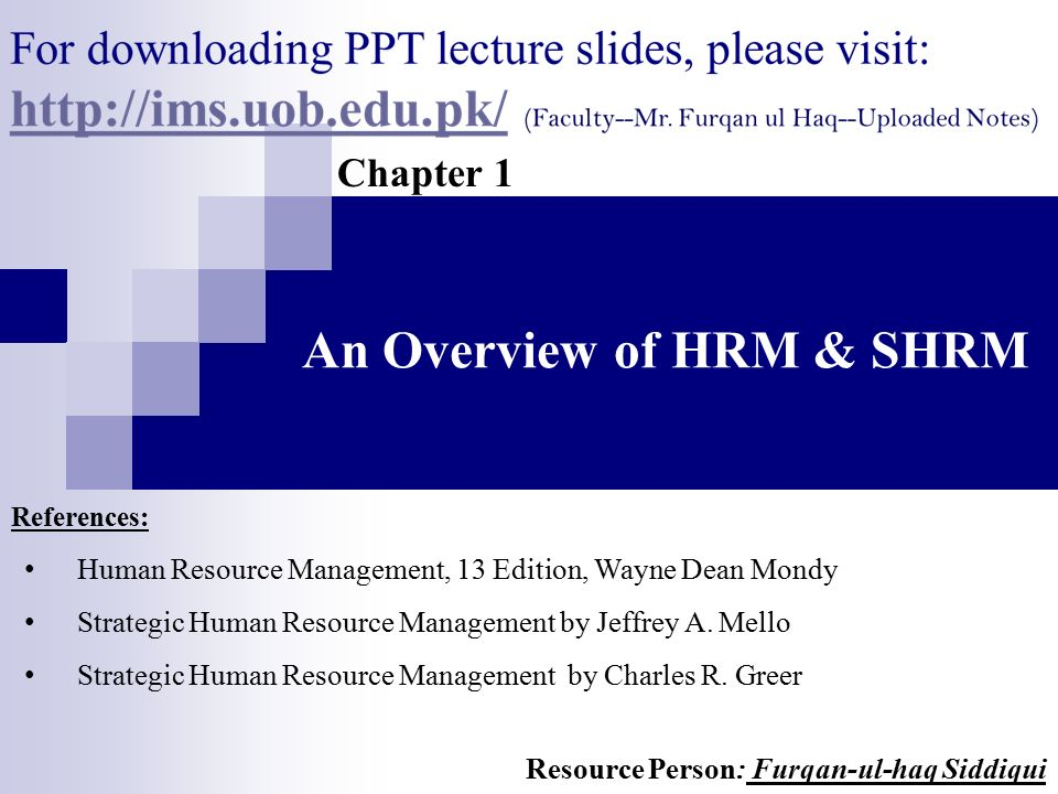 overview of hrm About kendrion hrm overview.