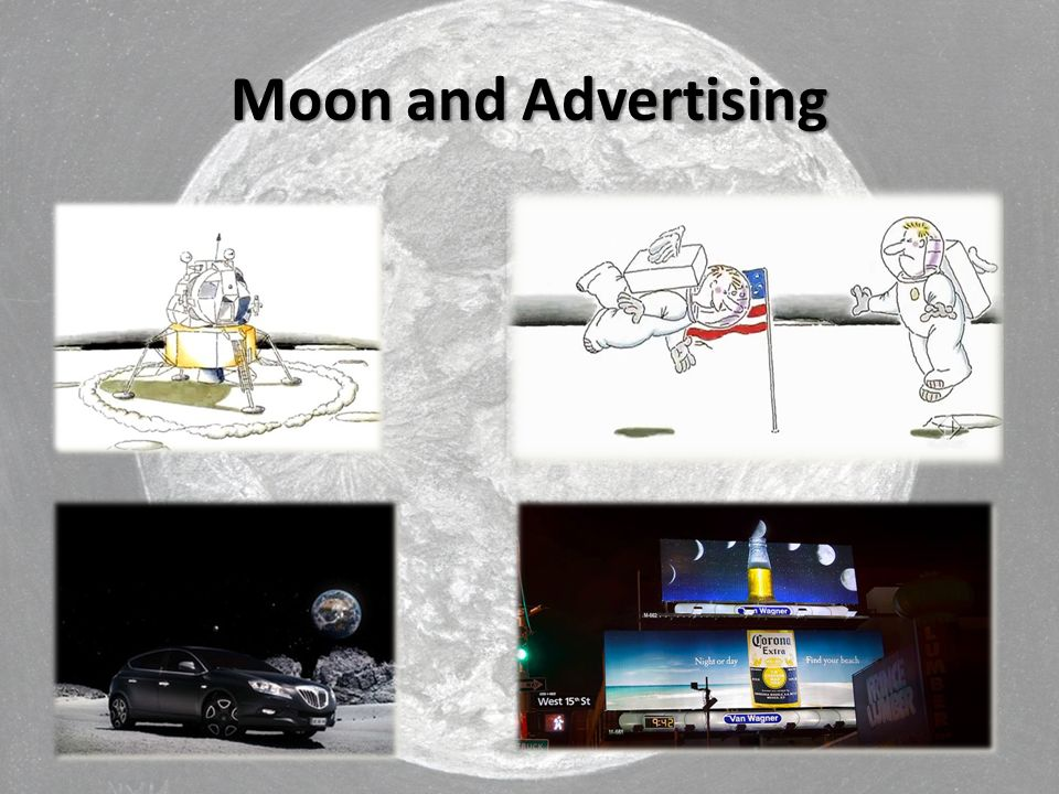 Moon and Advertising