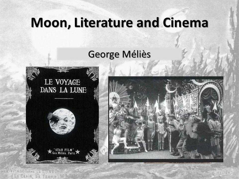 Moon, Literature and Cinema