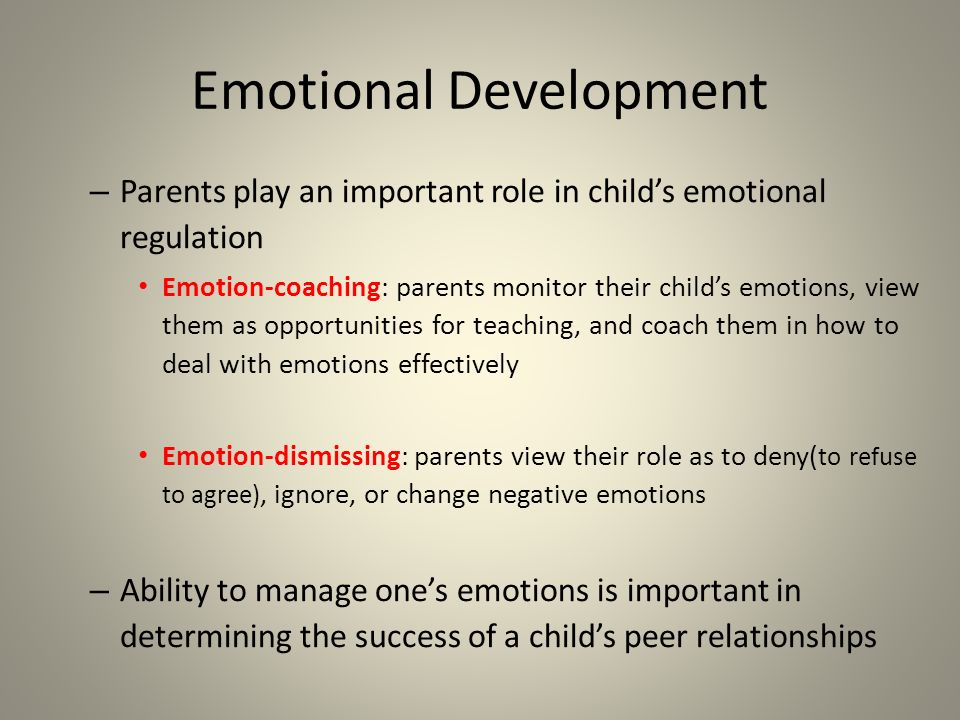 the major role of the parents in molding a childs emotions and behavior Biblically-sound insight, encouragement and information to help parents facing unique challenges with their kids  emotions discipline.