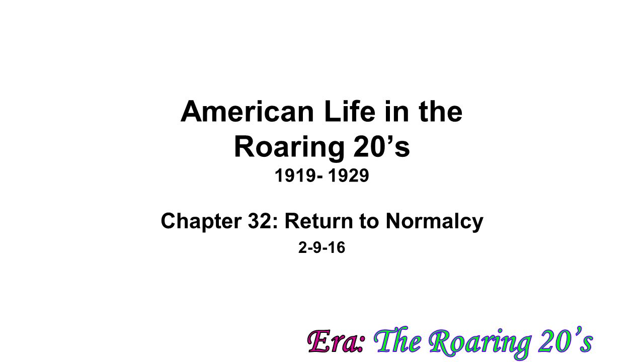 american life in the 1920s essay Compare and contrast 1920s-1930s  in the 1920s and 1930s by julie nguyen life in the 1930s life in  and since canadians were strongly influenced by american.