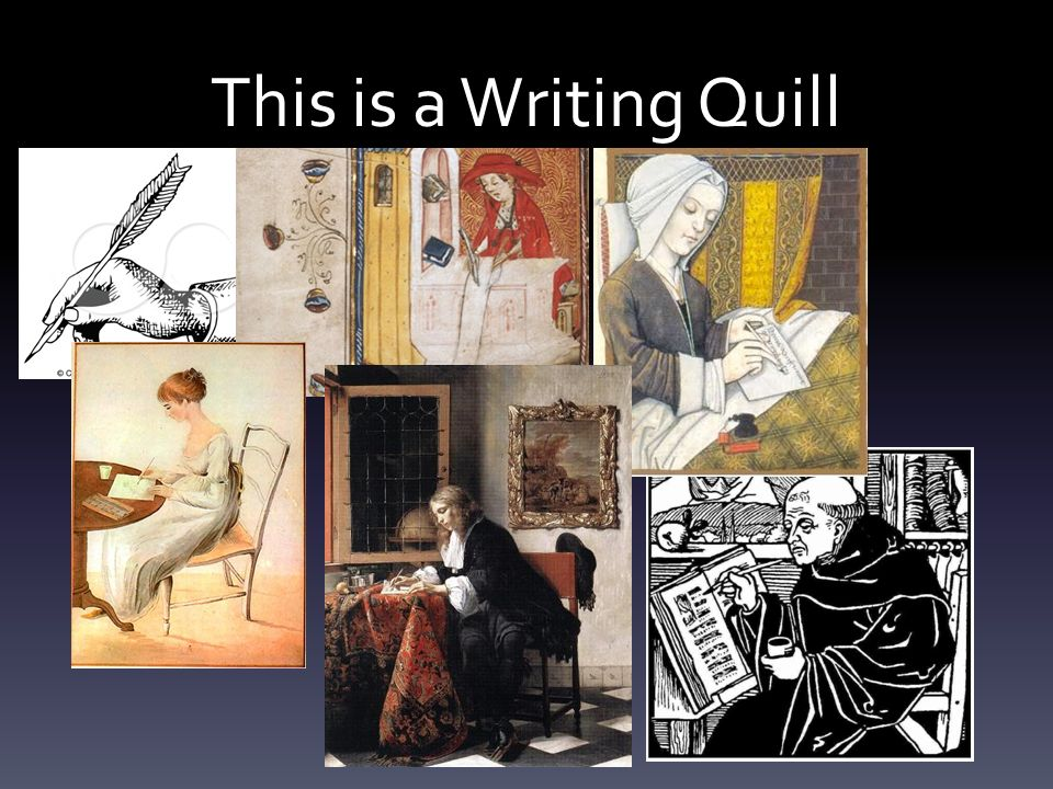 This is a Writing Quill