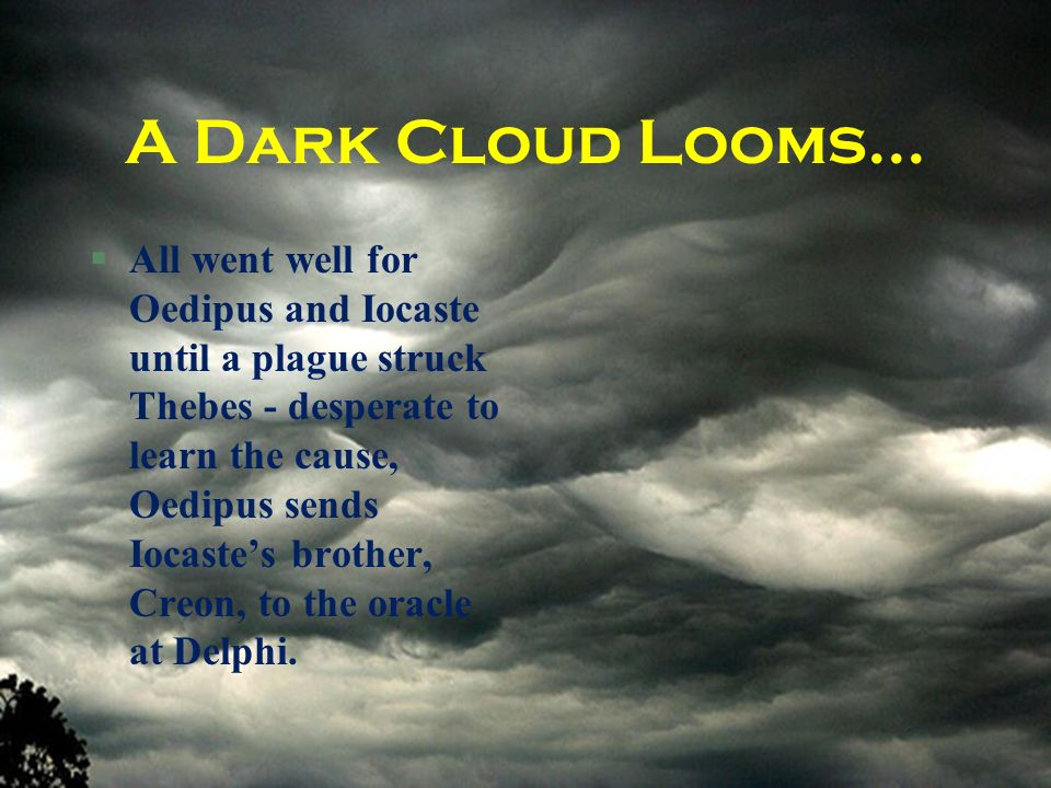 A Dark Cloud Looms...