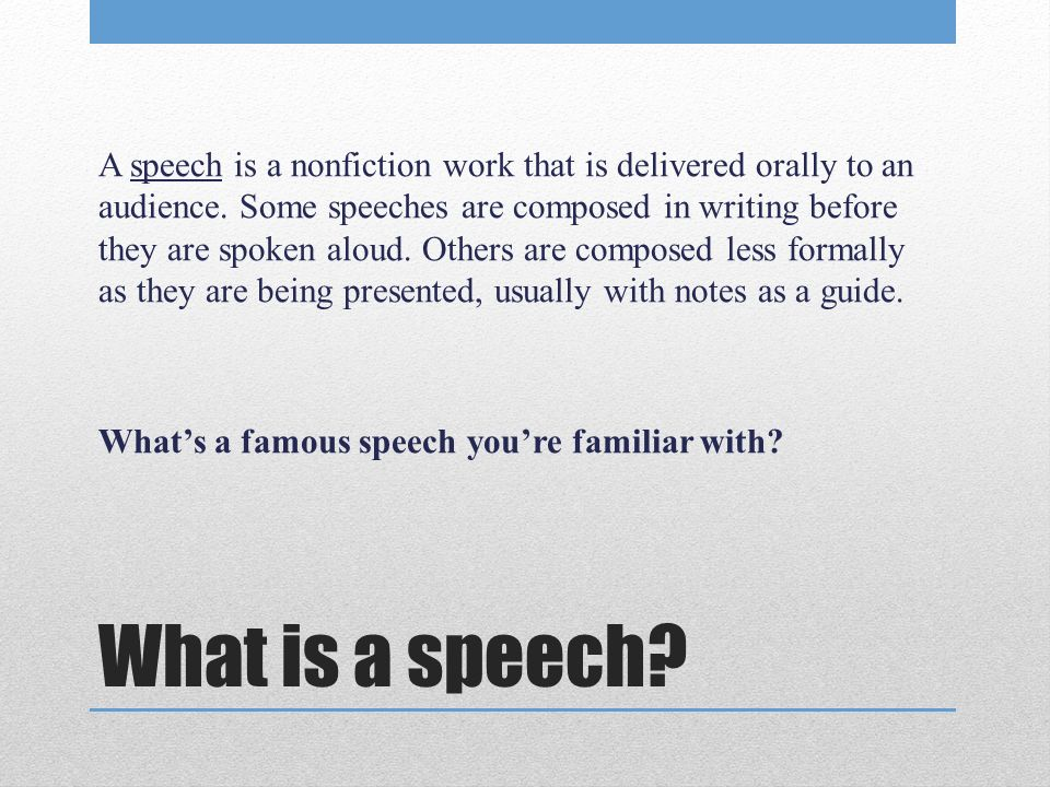 Types Of Speeches Persuasive Techniques And Rhetorical Devices