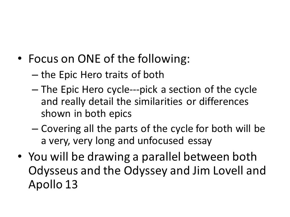 essay questions the odyssey Free essay on homer's odyssey: odyssey as epic poem - the odyssey as epic poem the odyssey is an epic poem in the odyssey, the reader can find at least four characteristics, which help prove it is an epic poem.