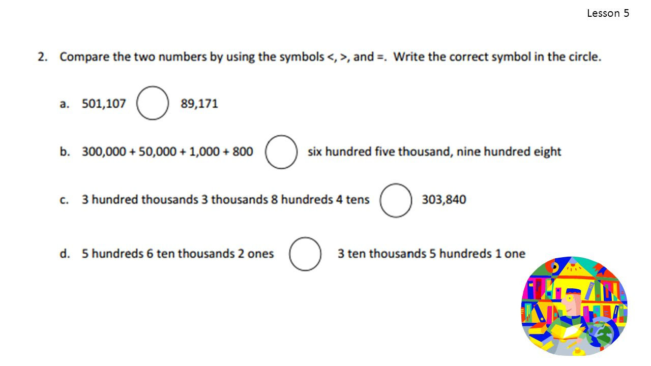 Topic b comparing multi digit whole numbers 4nbt2 ppt video 34 lesson 5 biocorpaavc Image collections