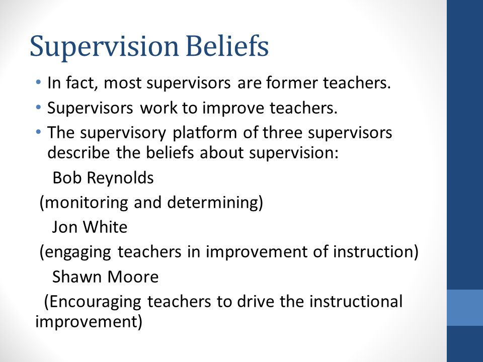 supervision and instructional leadership a developmental approach pdf
