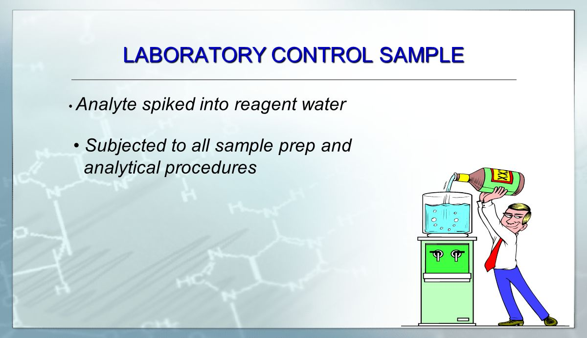 LABORATORY CONTROL SAMPLE