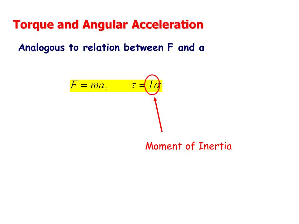 relationship between rotational inertia and radius of gyration