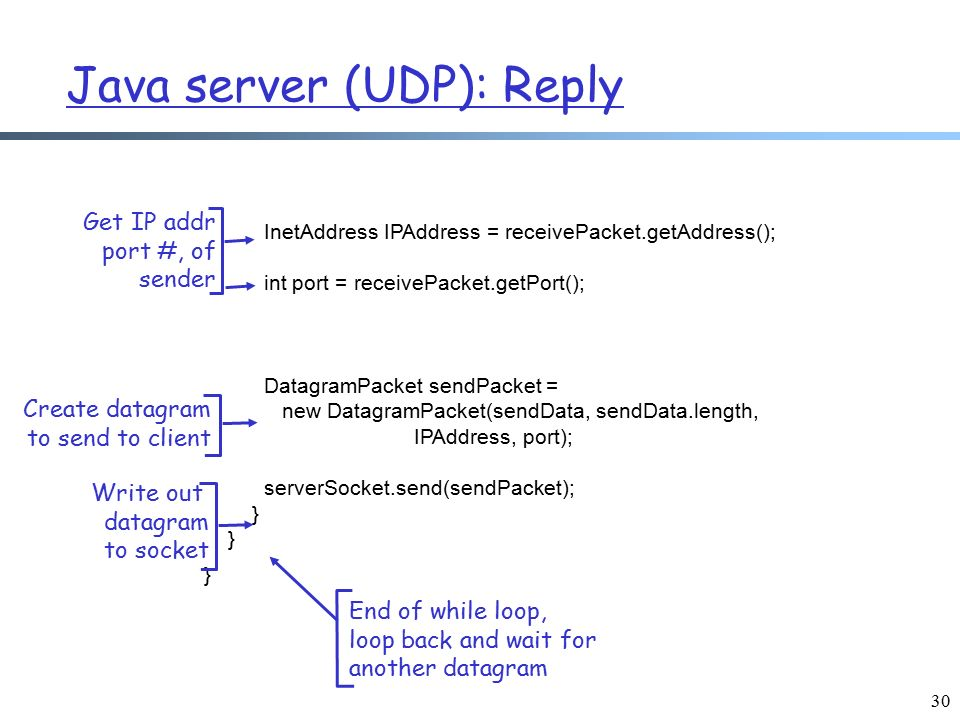 how to create a tcp server in java