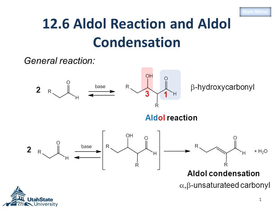 12.6 Aldol Reaction and Aldol Condensation - ppt video ...