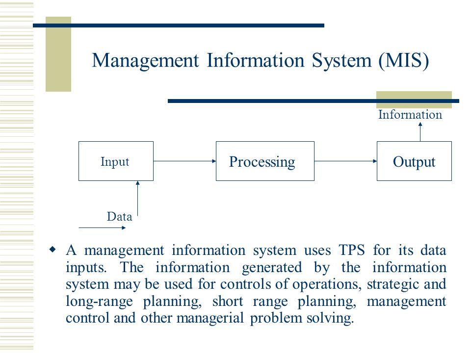 A report on management information system mis Homework