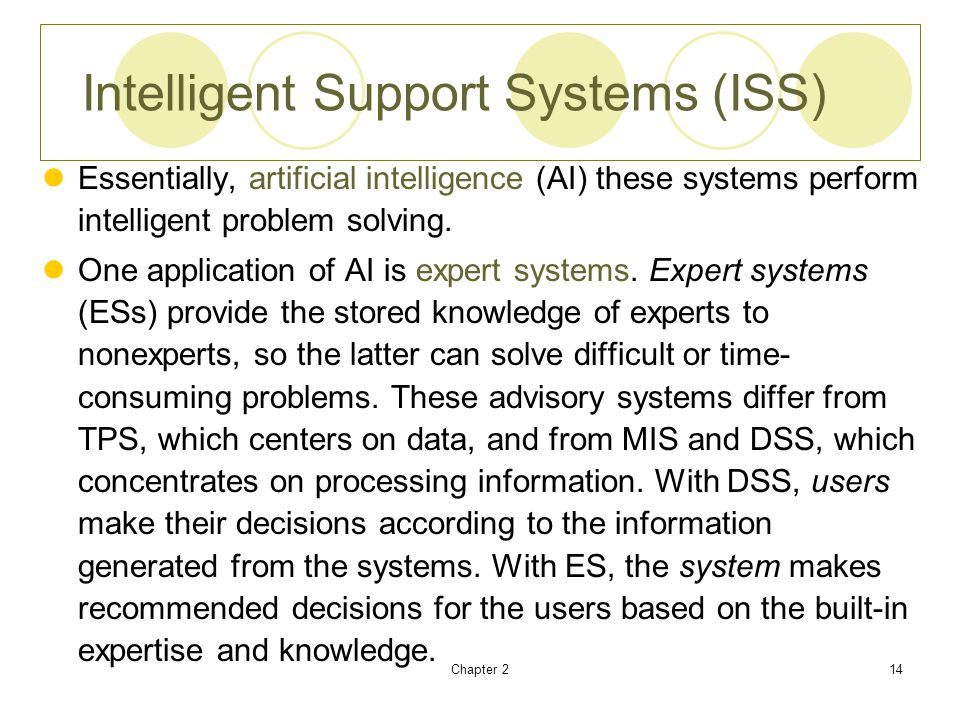 expert systems and their applications