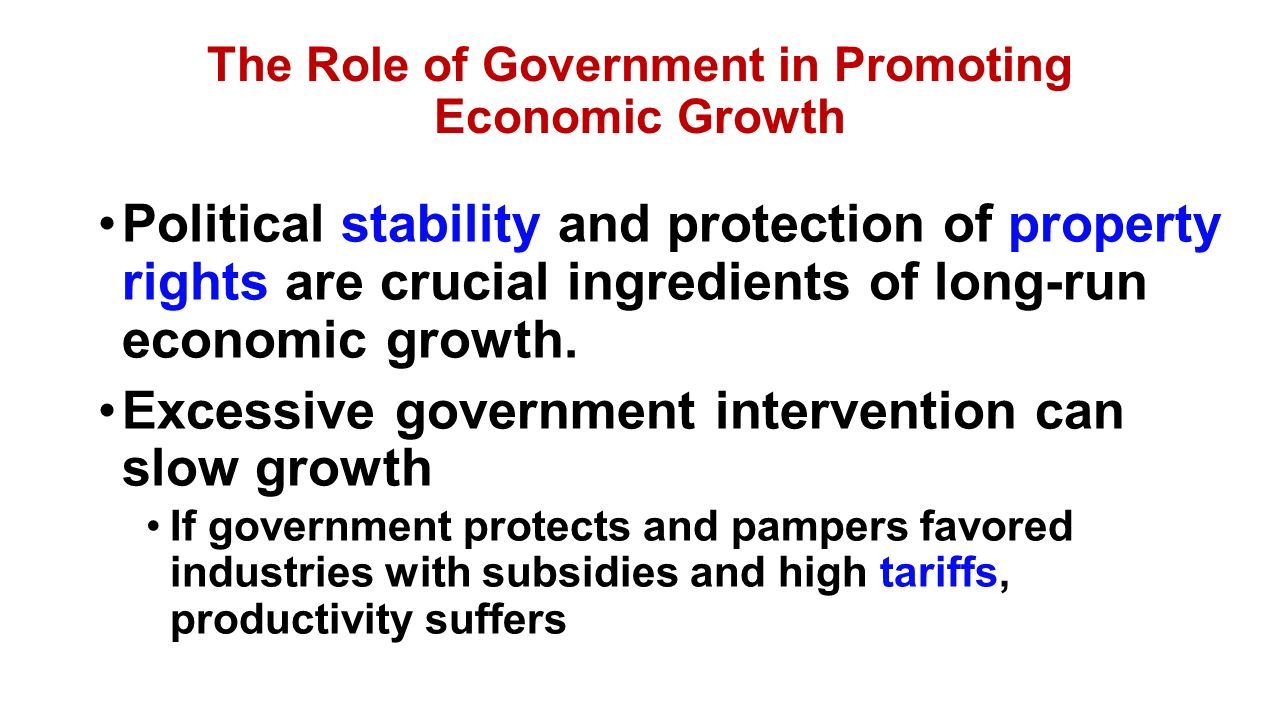 the roles of economic liberalism government intervention and deregulationprivatization in economics