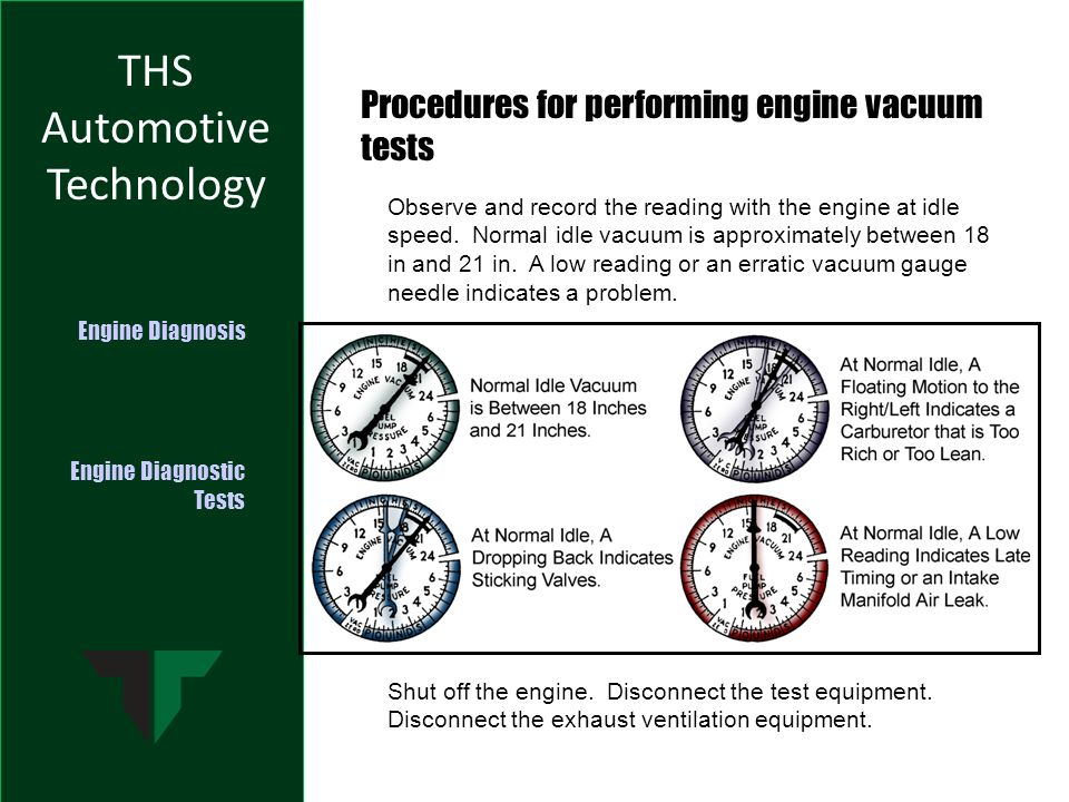 Engine Diagnostic Tests - ppt video online download