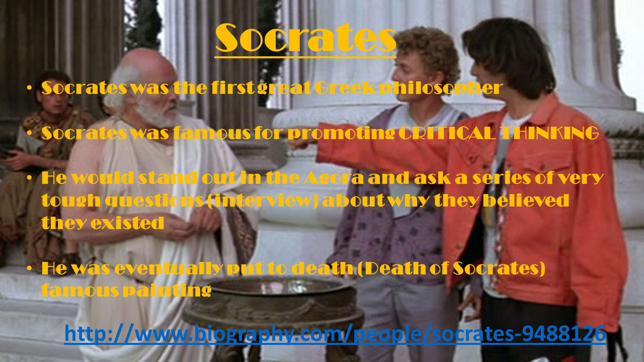 a biography of socrates an ancient greek philosopher Posted in ancient greek philosopher, ancient greek  several hundred years before the birth of socrates, thales the philosopher was said to have fallen into a well.