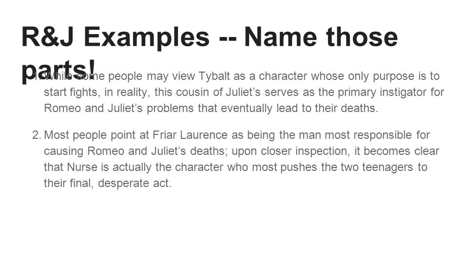 romeo and juliet comparison paper essay