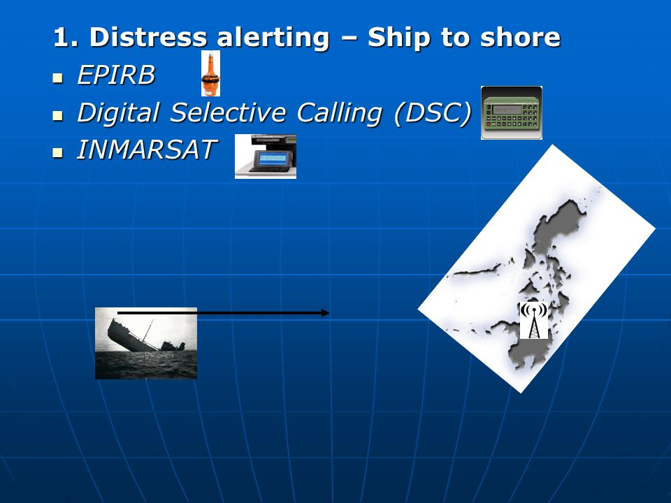 Global Maritime Distress And Safety System Gmdss Ppt