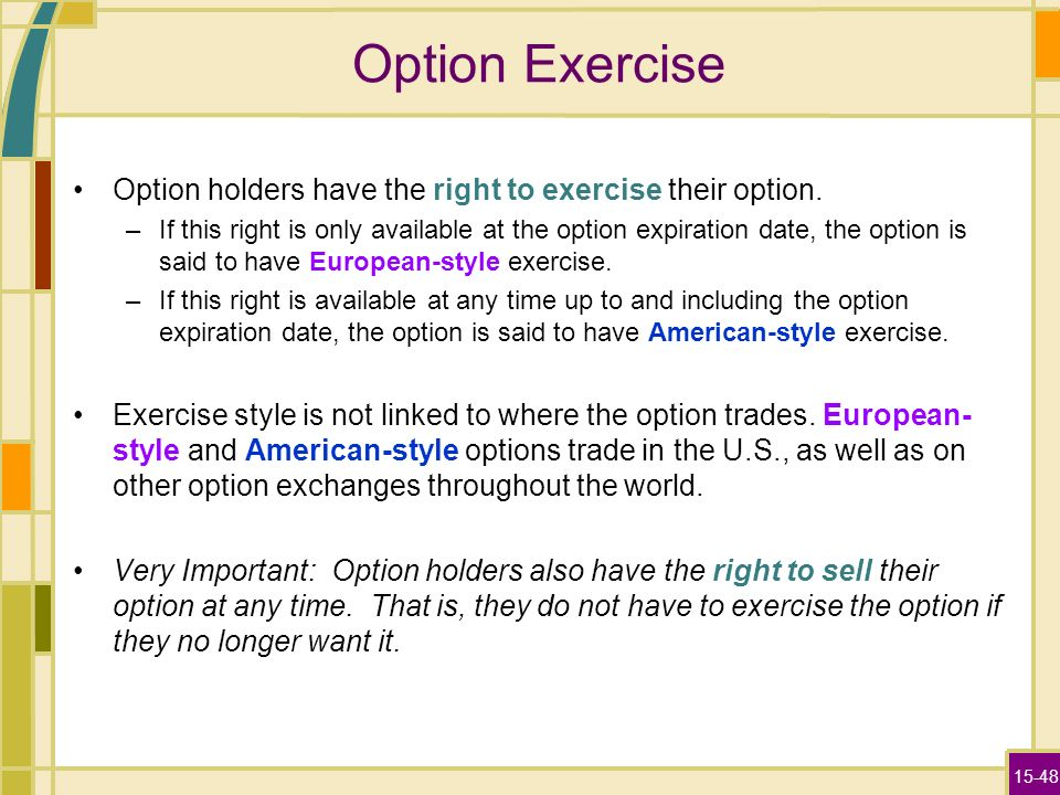 When is the right time to exercise stock options