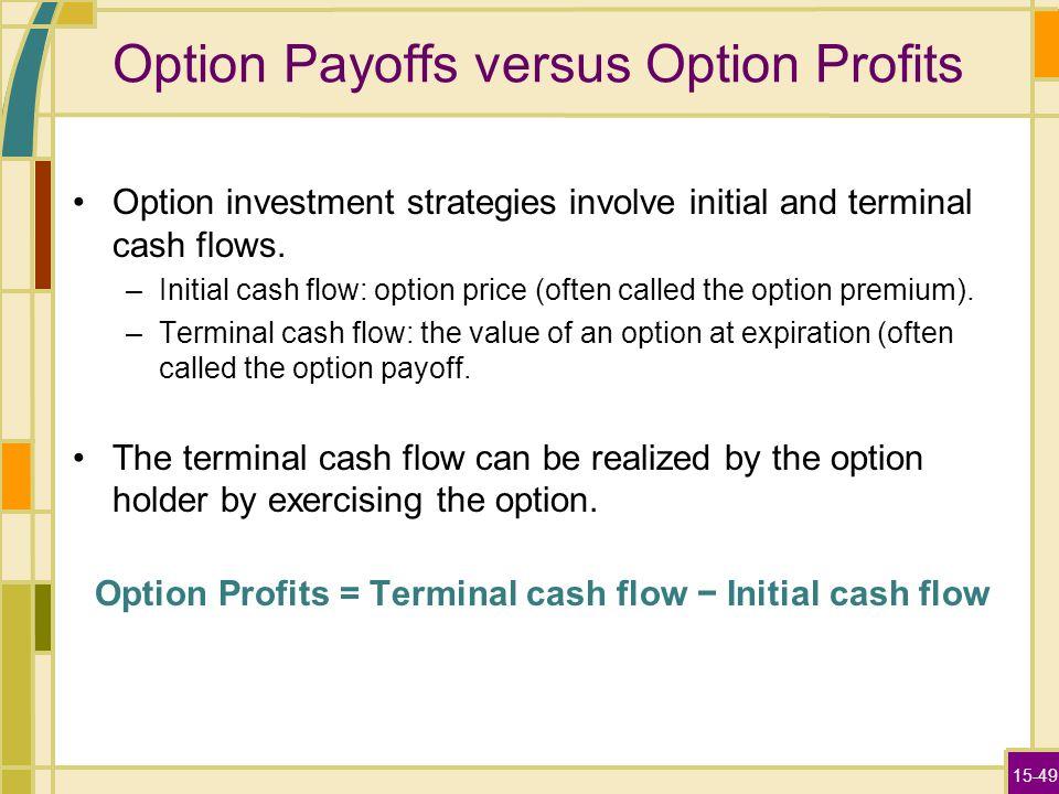 Cash vs stock options