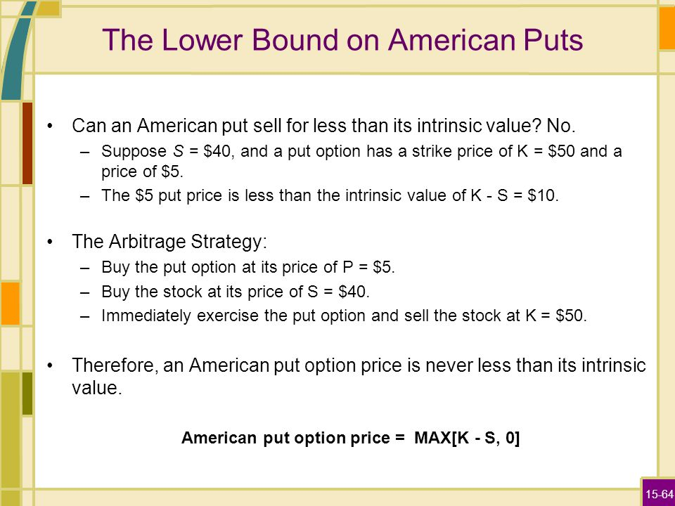 Stock options american or european