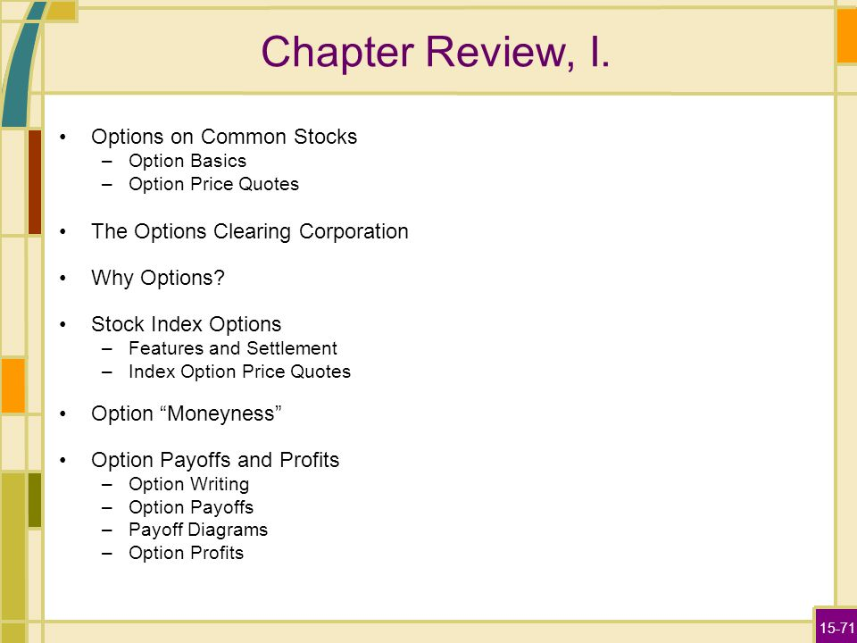 Chapter 11 stock options