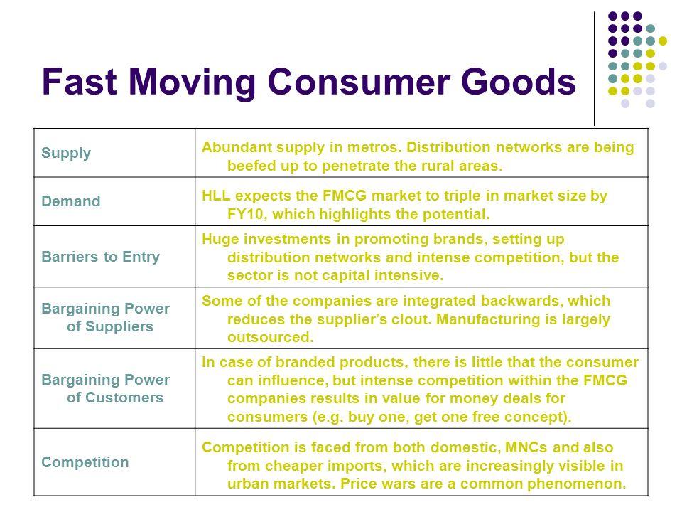 fast moving consumer goods essay