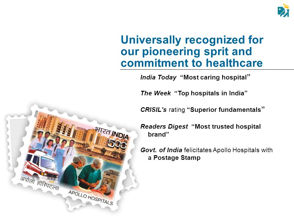 Universally recognized for our pioneering sprit and commitment to healthcare