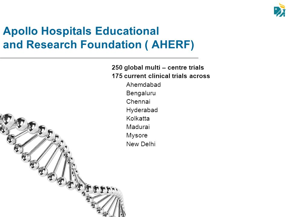 Apollo Hospitals Educational and Research Foundation ( AHERF)