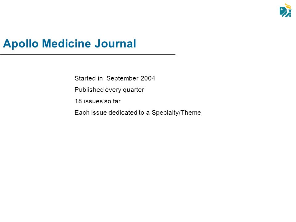 Apollo Medicine Journal