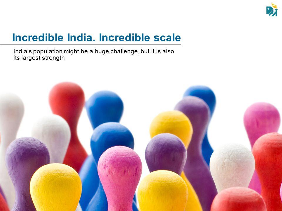 Incredible India. Incredible scale