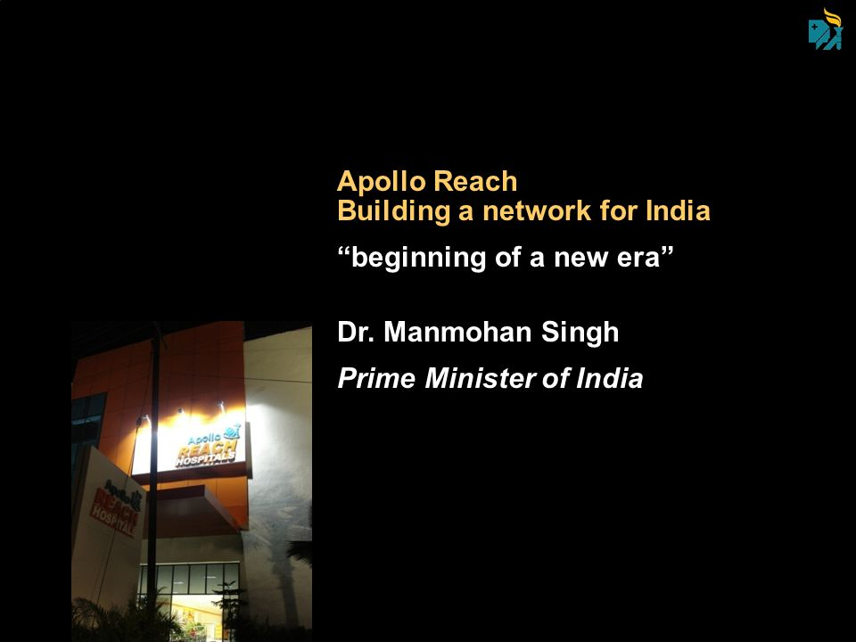 Apollo Reach Building a network for India