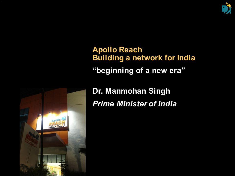 Apollo Reach Building a network for India