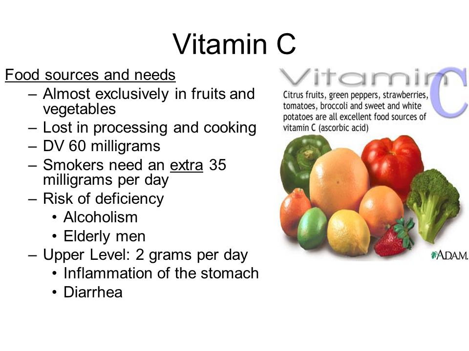 Making History With Vitamin C Powerpoint: Vitamins, Minerals, And Water Micronutrients Fluid And