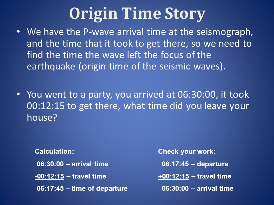Aim How can we locate the epicenter of an Earthquake ppt video – Earthquake P-wave and S-wave Travel Time Worksheet