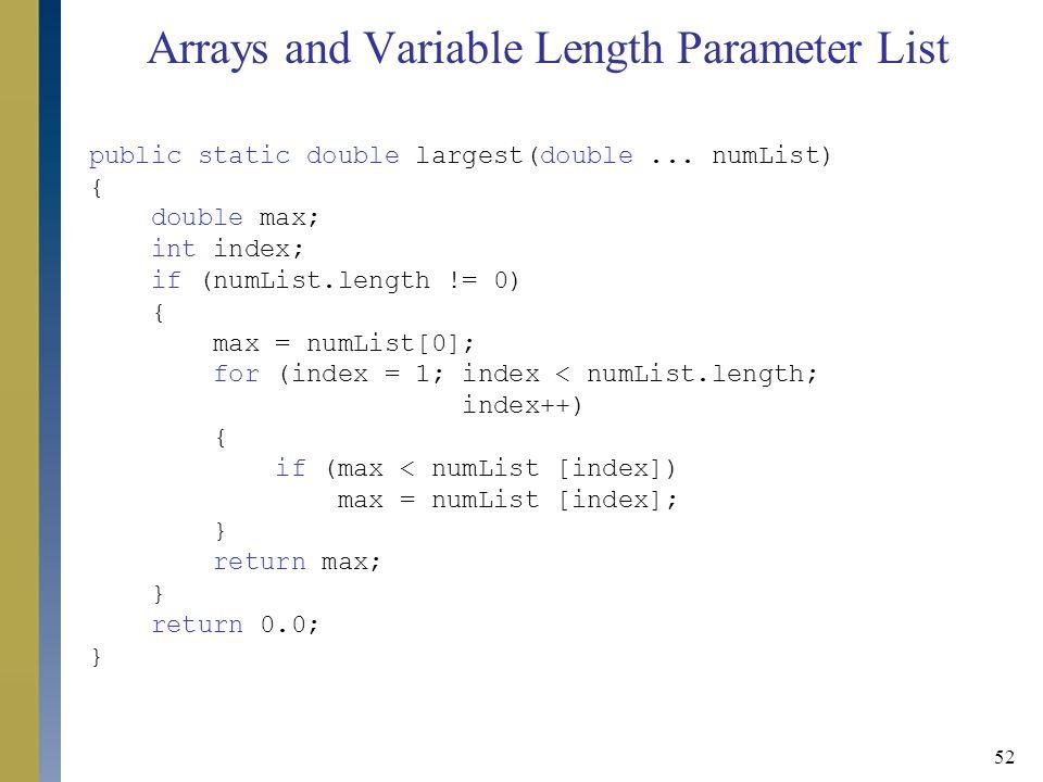 how to get length of an array list