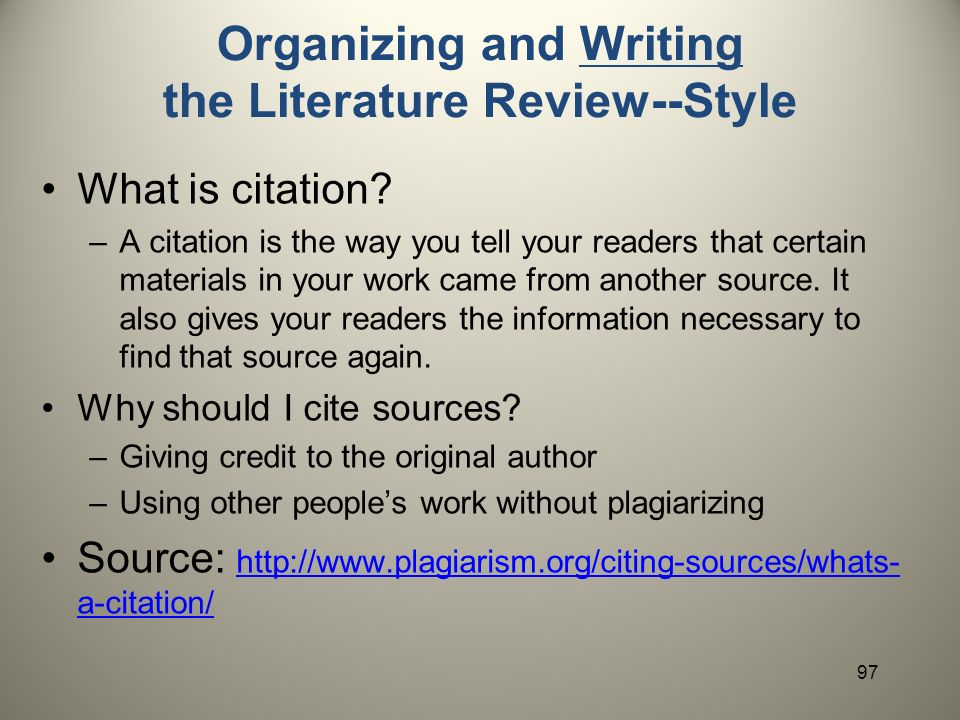 Literature Review Sample  References LibGuides   University of West Florida