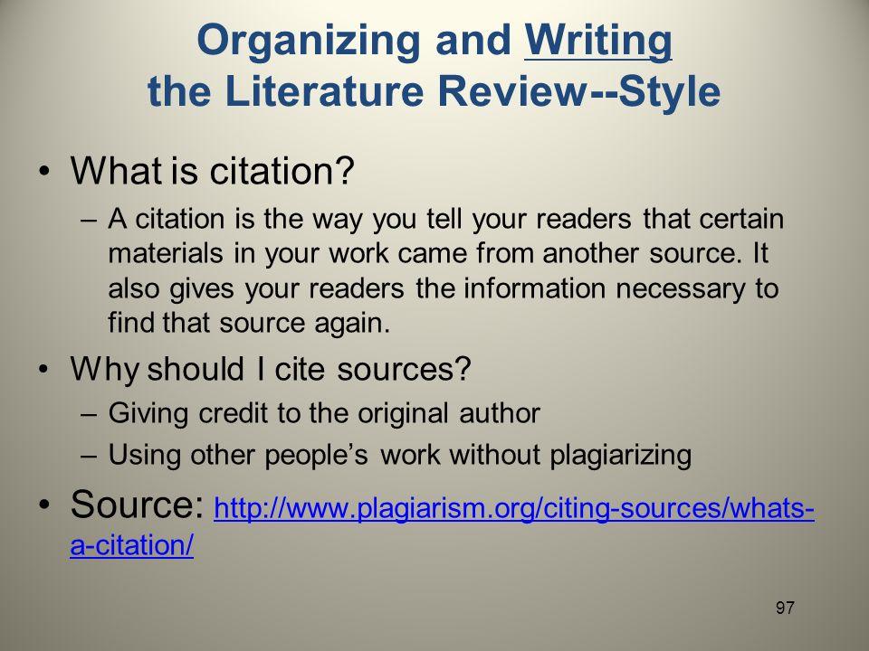 Review Of Literature Apa