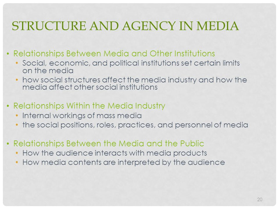 relationship between mass media and socialization process