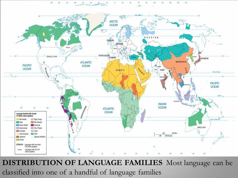 Topic Classification Of World Languages Ppt Video Online Download - World languages map