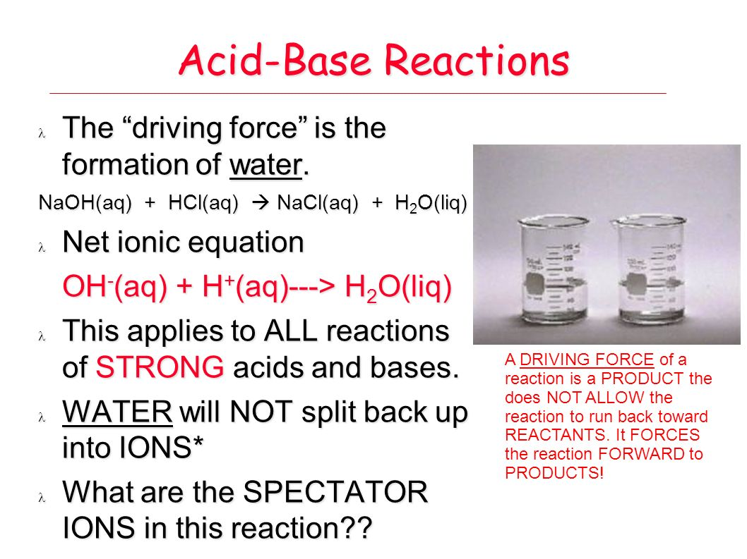 acid base chemistry and water Since both acids and bases dissolve in water to form ions, they are both electrolytes however,  strong acid/base.
