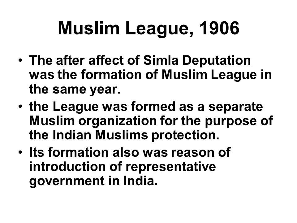 simla muslim Sir sultan muhammad shah, the agha khan headed the historic simla  deputation which successfully presented muslims demands on 01 oct 1906  before.